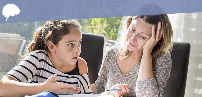 Kind wil helemaal geen hulp bij huiswerk